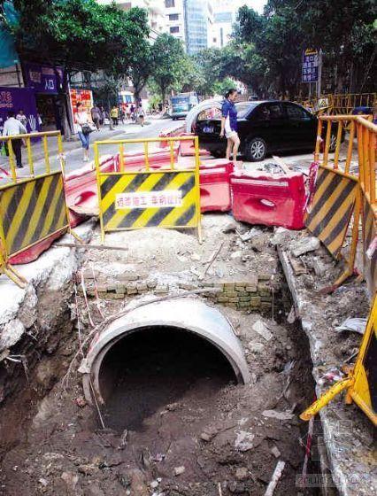 广州造价5700万雨污分流工程管道错位污水难排