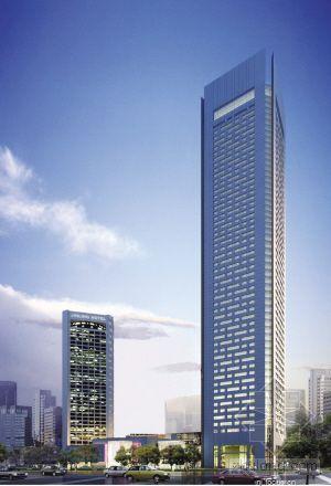 """南京:新金陵饭店高238米要在新街口当""""老二"""""""