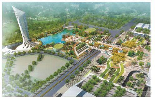 杭州铁路东站枢纽东西广场综合体景观绿化设计方案今起公示