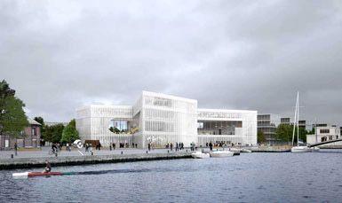 OMA将在法国Caen设计一座新图书馆