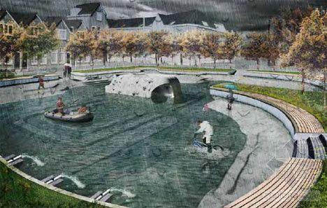 当雨水流过城市:法国里昂引入街道净化装置