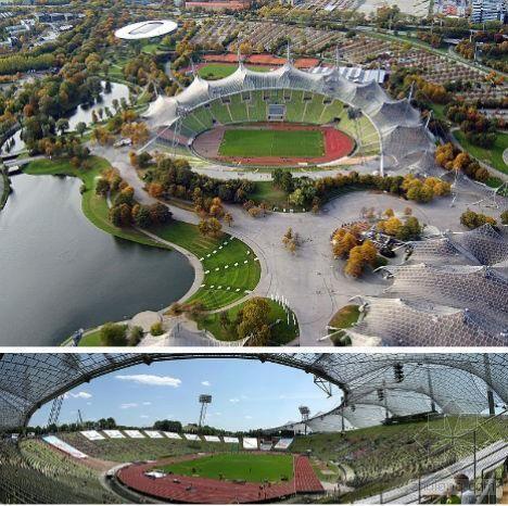 破茧而出的鸟巢酒店资料下载-全球13座最独特体育场:鸟巢上榜