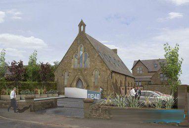 英国一座200年历史的教堂被改造成艺术社区