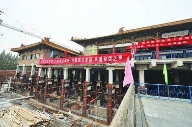 """南京博物院将""""长高""""3米 为最大建筑整体顶升工程"""
