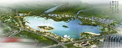 """安徽:""""一山一河一湖一园""""扮靓新宣城"""