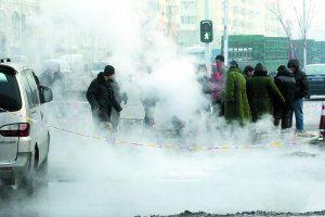 哈尔滨供热管爆裂12万户停暖 煤价被指为主因