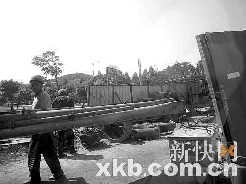 东莞污水管网施工发生塌方2名工人身亡