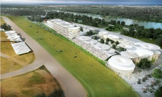 意大利建筑师设计的巴黎longchamp赛马场