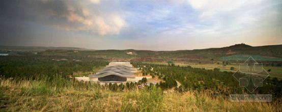 程大鹏设计的大同云冈石窟博物馆建成