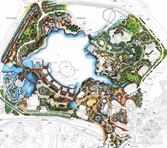 特色主题公园景观文本资料下载-深圳欢乐谷二期主题公园景观规划