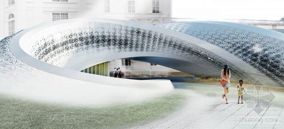 奥地利国家图书馆扩建方案设计