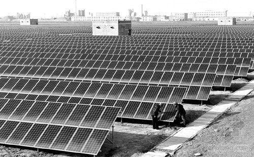 东营太阳能光伏发电站累计发电124万度