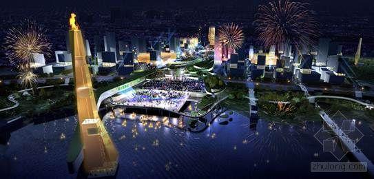 POPULOUS的2014南京青年奥运会总体规划