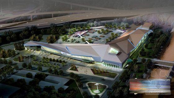 """烟台开发区客运站今年开工 呈""""L""""形设计"""