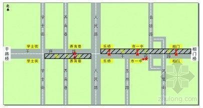 苏州:干将路改造明起施工 13条公交线站点临时迁移