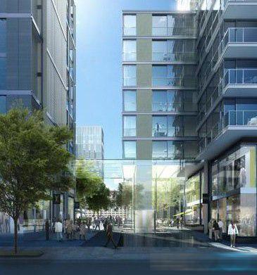 """福斯特设计的华盛顿""""城市中心特区""""项目开工"""