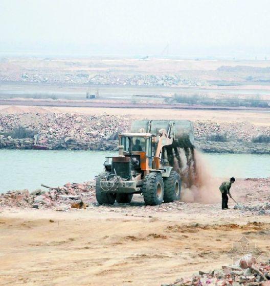 围海造地臭水污染 胶州湾湿地20年减少1/3
