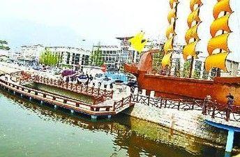 北京门头沟五条泄洪沟年内变城市景观河