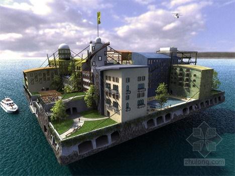 14个未来派绿色建筑设计