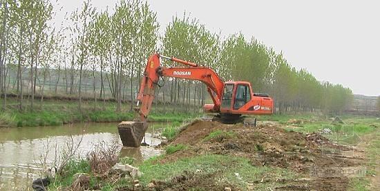 大疃南河人工湿地污水处理率将达96%