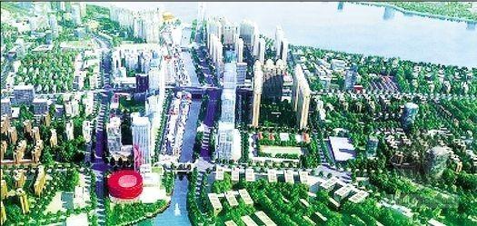 武汉中央文化区 打造现代《清明上河图》