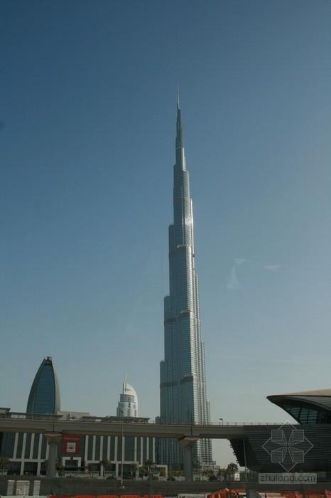 华太之旅——阿联酋迪拜建筑考察游记之三:全球最高建筑,迪拜塔