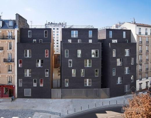 LAN建筑设计事务所设计巴黎学生宿舍