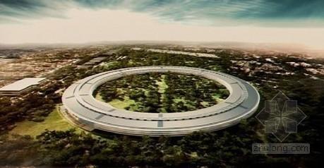 """乔布斯的梦想""""飞船"""" 苹果新总部预计2015年完工"""