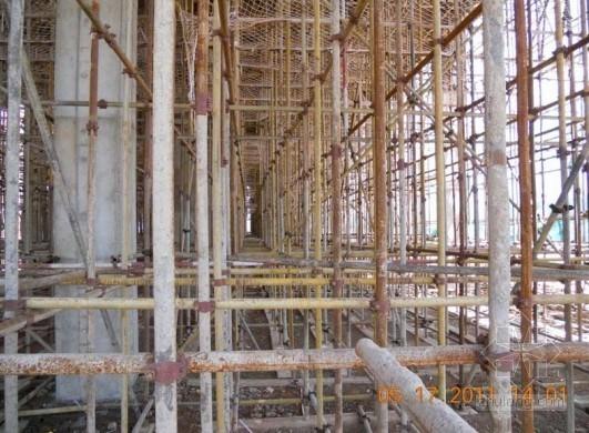 东航昆明新机场基地航食及机供品主体结构顺利封顶