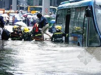 广州排水系统标准为一年一遇