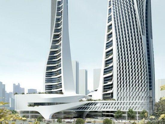 UNStudio设计杭州来福士广场获国际房地产奖