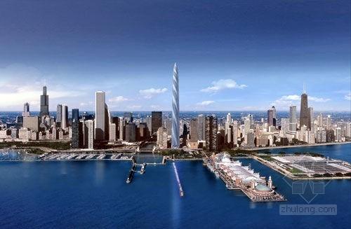 扭曲之美--芝加哥螺旋塔