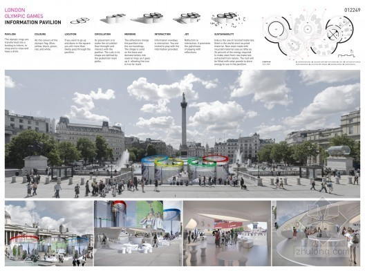 [AC-CA]公布伦敦奥运会信息亭建筑竞赛获奖作品
