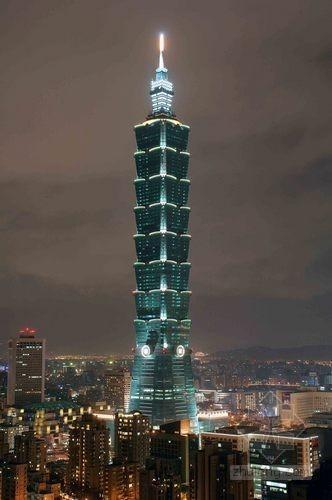 """台北101大楼获世界最高""""绿建筑""""认证"""