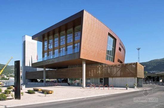 STEIN HALVORSEN AS sivilarkitekter MNAL设计卑尔根消防站