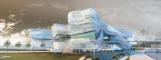 Behnisch Architekten设计的新北市立美术馆设计方案