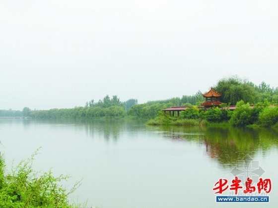 高密斥资16亿打造五龙河湿地公园 建刘墉家族纪念馆