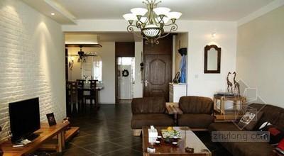 时尚瓷砖丰富客厅表情