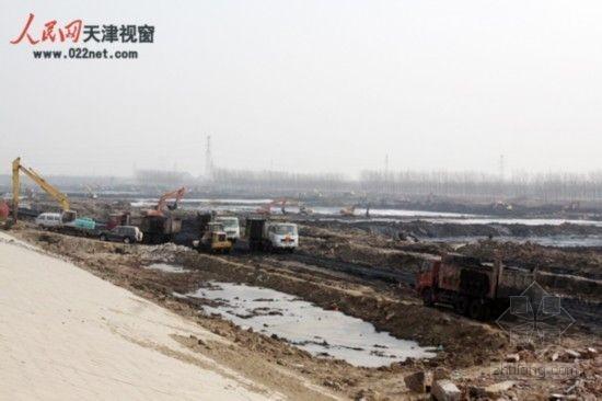 天津永定新河综合治理工程全面展开