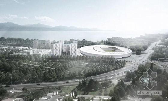 GMP在瑞士洛桑的体育馆设计与城市重新设计竞赛中获胜