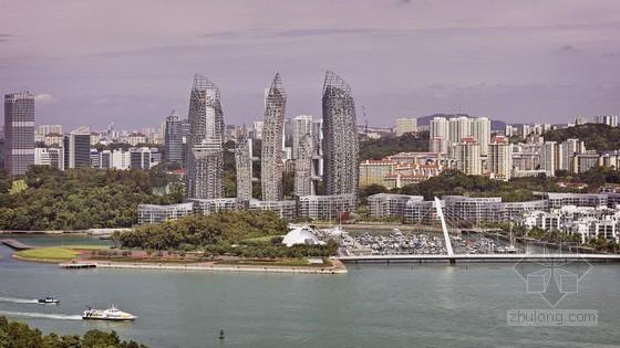 Studio Daniel Libeskind设计的新加坡吉宝湾Reflections住宅