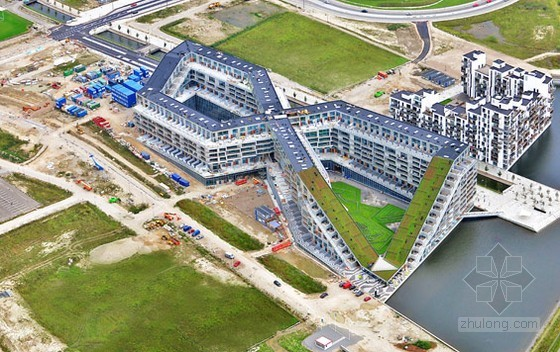 哥本哈根新建8字形绿色建筑