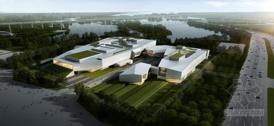 Atelier 11工作室设计第九届中国国际园林博览会主展馆