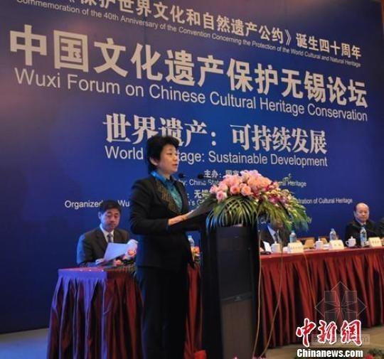 2012中国文化遗产保护论坛开幕 《保护世界文化和自然遗产公约》40周年活动同期举办