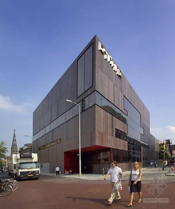 Diederendirrix设计的荷兰迪纳摩文化中心
