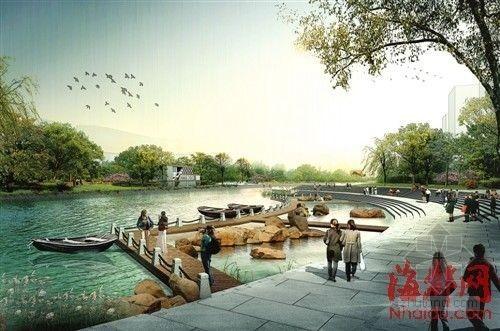 福州旧区改造资料下载-福州光明港综合治理,将建大型公园