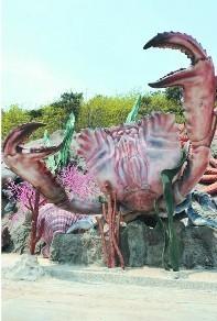 大连海之韵公园2000万元建海洋生物雕塑群