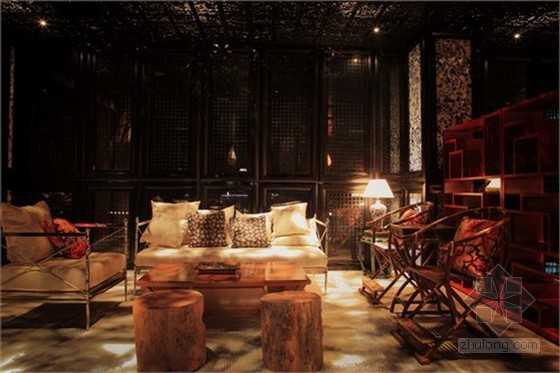 經典的潤德會所室內裝修設計