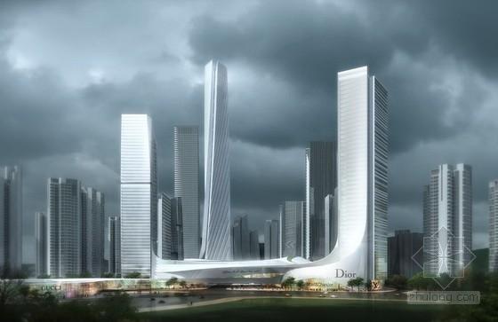 AECOM设计深圳龙岗红荷项目规划
