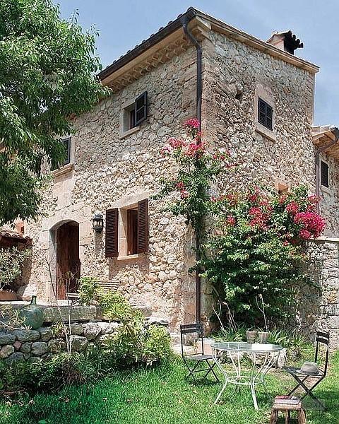 西班牙马略卡岛地中海乡村别墅室内设计